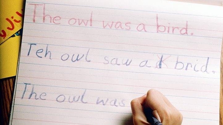Dyslexia children reading problem