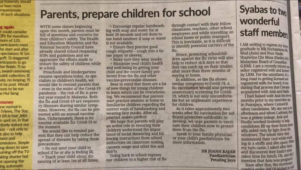 tips to prepare children back to school